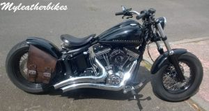 SO04 veg antique sur Softail Blackline